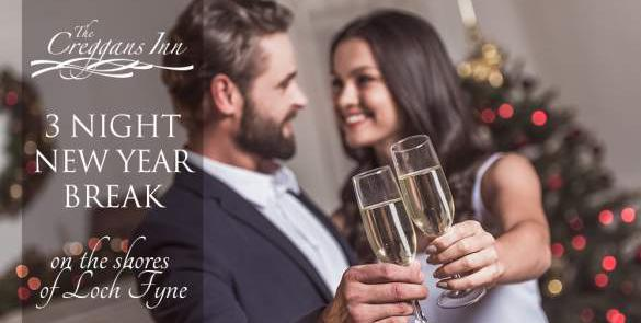 Bring in the New Year at The Creggans Inn